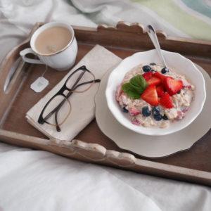 Birchermüesli zum Frühstück