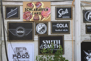 Street Food Festival Zürich Brand Wand