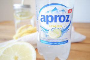 Aproz Lemon Migros ohne Zucker