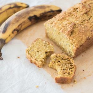 Veganes Bananenbrot ohne Zucker