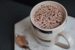 Heisser Kakao ohne Zucker