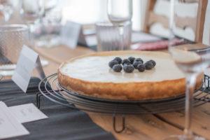 Quarktorte ohne Zucker zum Geburtstag