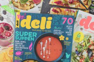 Ausgaben des Magazins Deli