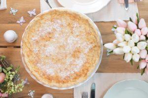 Osterfladen ohne Zucker zum Brunch