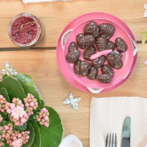 Zuckerfreie Schokoeier zu Ostern