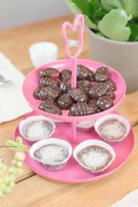 Schokoeier und Pralinen ohne Zucker
