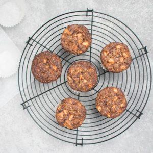 Apfel-Muffins ohne Zucker
